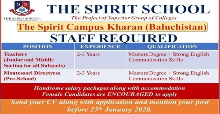 kharan school jobs