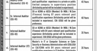 Oil & gas Development Company Limited OGDCL Jobs